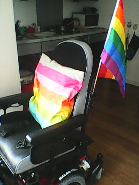 Pride chair