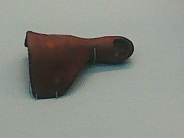 A prosthetic toe found on an Egyptian mummy.