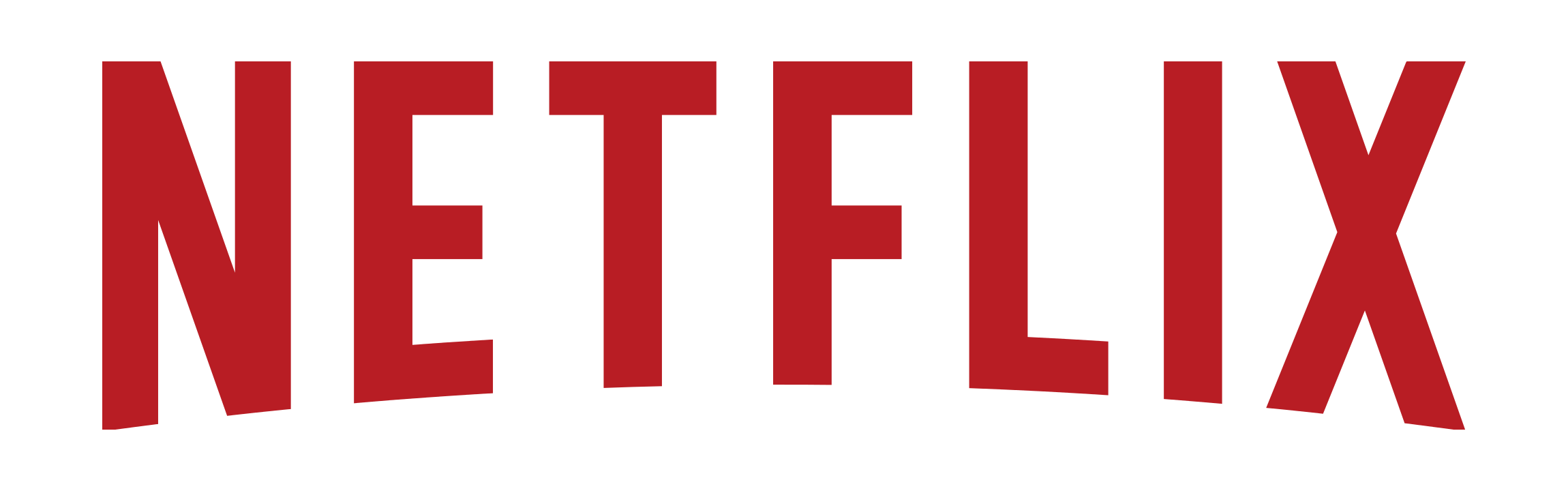 The Netflix logo. Red text, all capitals, on a white background.