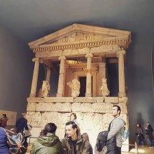 An Ancient Greek mausoleum.