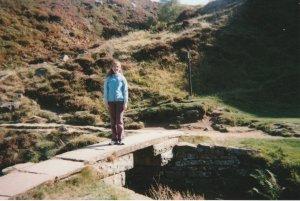 Stood on Bronte Bridge 10 years ago, near Top Withins.