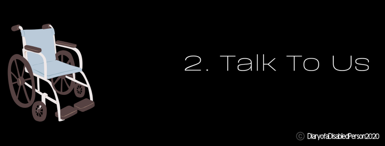 2. Talk To Us