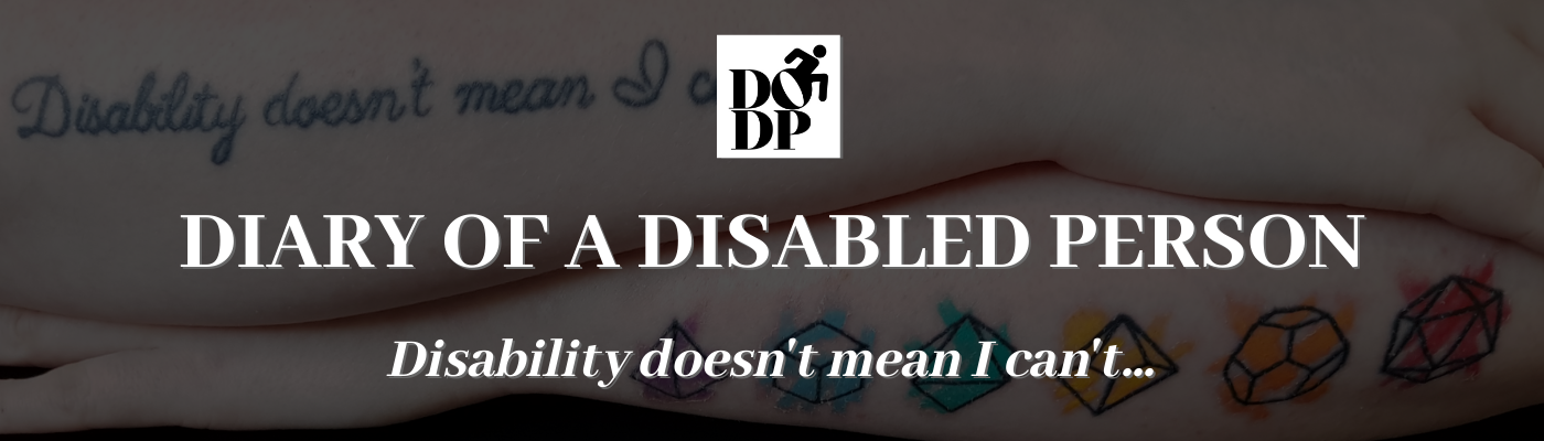 Diary of a Disabled Person.